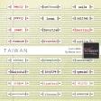 Taiwan Love Labels Kit