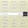 Taiwan Travel Labels Kit