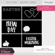 Cut Files Kit - Easter Cards