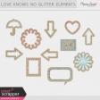 Love Knows No Borders Glitter Kit