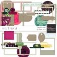 Vietnam Tags & Frames Kit
