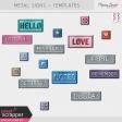 Build Your Basics Metal Signs Kit