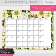 Flower Power Calendars Kit