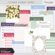 Flower Power Pocket Cards Kit