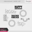 Anniversary Word Art Kit