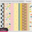 Oh The Places You'll Go Papers Kit