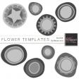 Flower Templates Kit #4