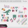 The Good Life: June Illustrations Kit