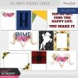 Go West Pocket Cards