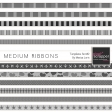 Medium Ribbons Templates Kit #2