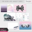 The Good Life: August Pocket Cards Kit