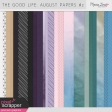 The Good Life: August Papers Kit #2