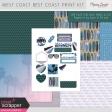 West Coast Best Coast Print Kit