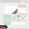 Cozy Kitchen Pocket Cards Kit