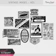 Vintage Images Kit - Ads