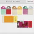 Malaysia Tags Kit - Bright