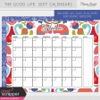 The Good Life: September Calendars Kit