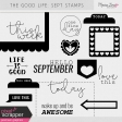 The Good Life: September Stamps Kit