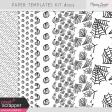 Paper Templates Kit #203