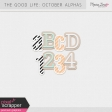 The Good Life: October Alphas Kit