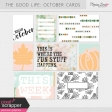 The Good Life: October Pocket Cards Kit