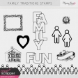 Family Traditions Stamps Kit
