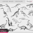 Vintage Images Kit - Dinosaurs
