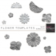 Flower Templates Kit #17