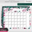 The Good Life: January 2019 Calendars Kit