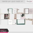 Winter Day Quick Pages Kit