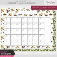The Good Life: February 2019 Calendars Kit