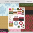 Desert Spring Print Kit