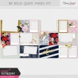 Be Bold Quick Pages Kit