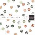 Family Game Night Bingo Alphas Kit