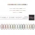 Family Game Night Fastenings Kit
