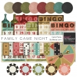 Family Game Night Game Pieces Kit