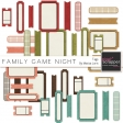 Family Game Night Tags Kit