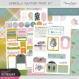 Umbrella Weather Print Kit