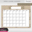 Spring Cleaning Calendars Kit