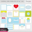 Pocket Card Templates Kit #2 - 4x4