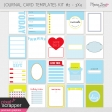 Pocket Card Templates Kit #2 - 3x4