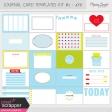 Pocket Card Templates Kit #2 - 4x6