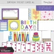 Birthday Pocket Cards Kit #2