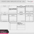 Pocket Card Templates Kit #4 - 4x4