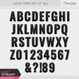 Alpha Template Kit #20