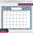 The Good Life: September 2019 Calendars Kit