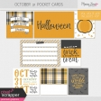 October 31 Pocket Cards Kit