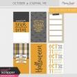 October 31 Journal Me Kit