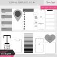 Journal Me Templates Kit #1