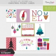 The Good Life: December 2019 Christmas Pocket Cards Kit